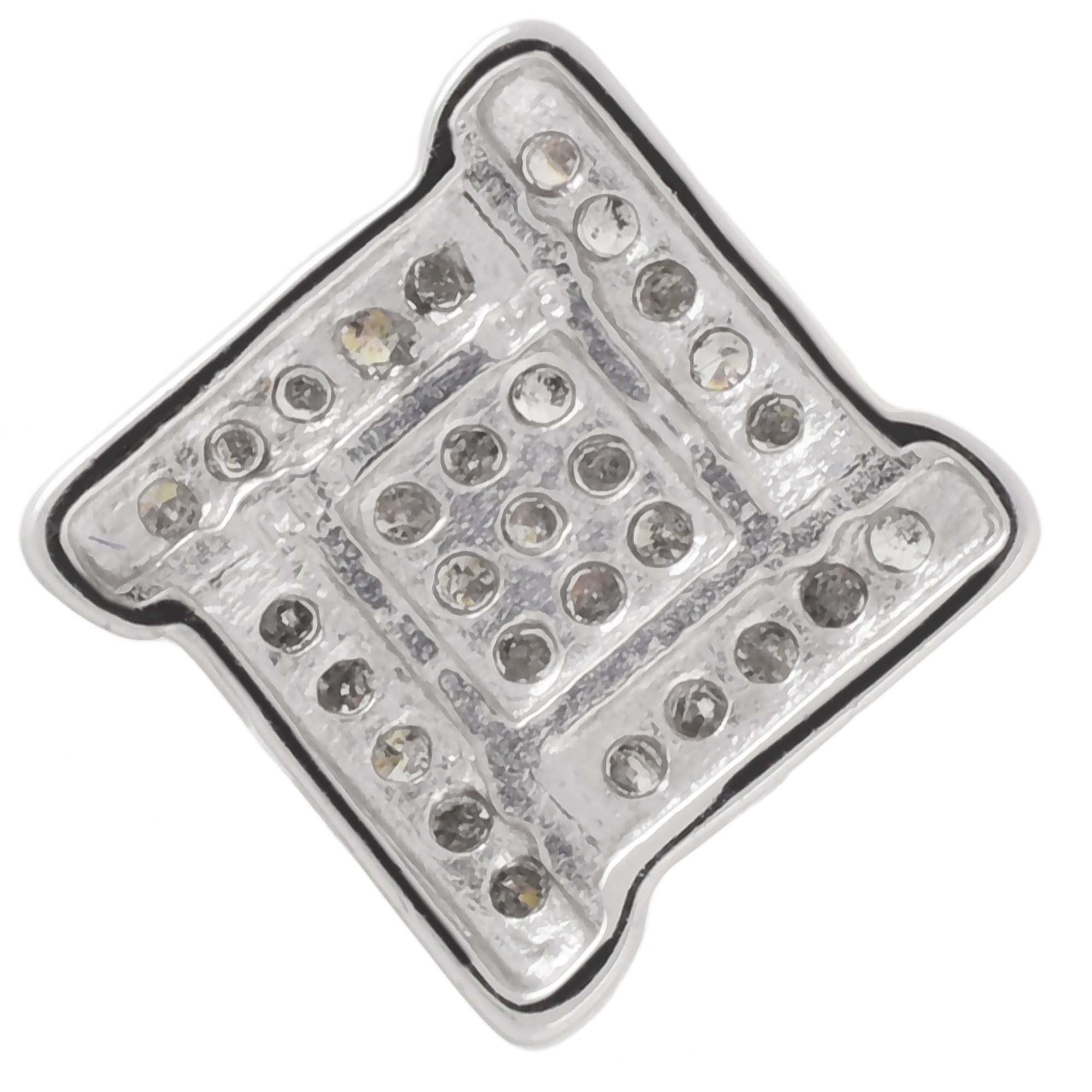 Damen-Halskette-echt-Silber-925-Sterling-rhodiniert-mit-Diamanten-45-cm-lang Indexbild 2