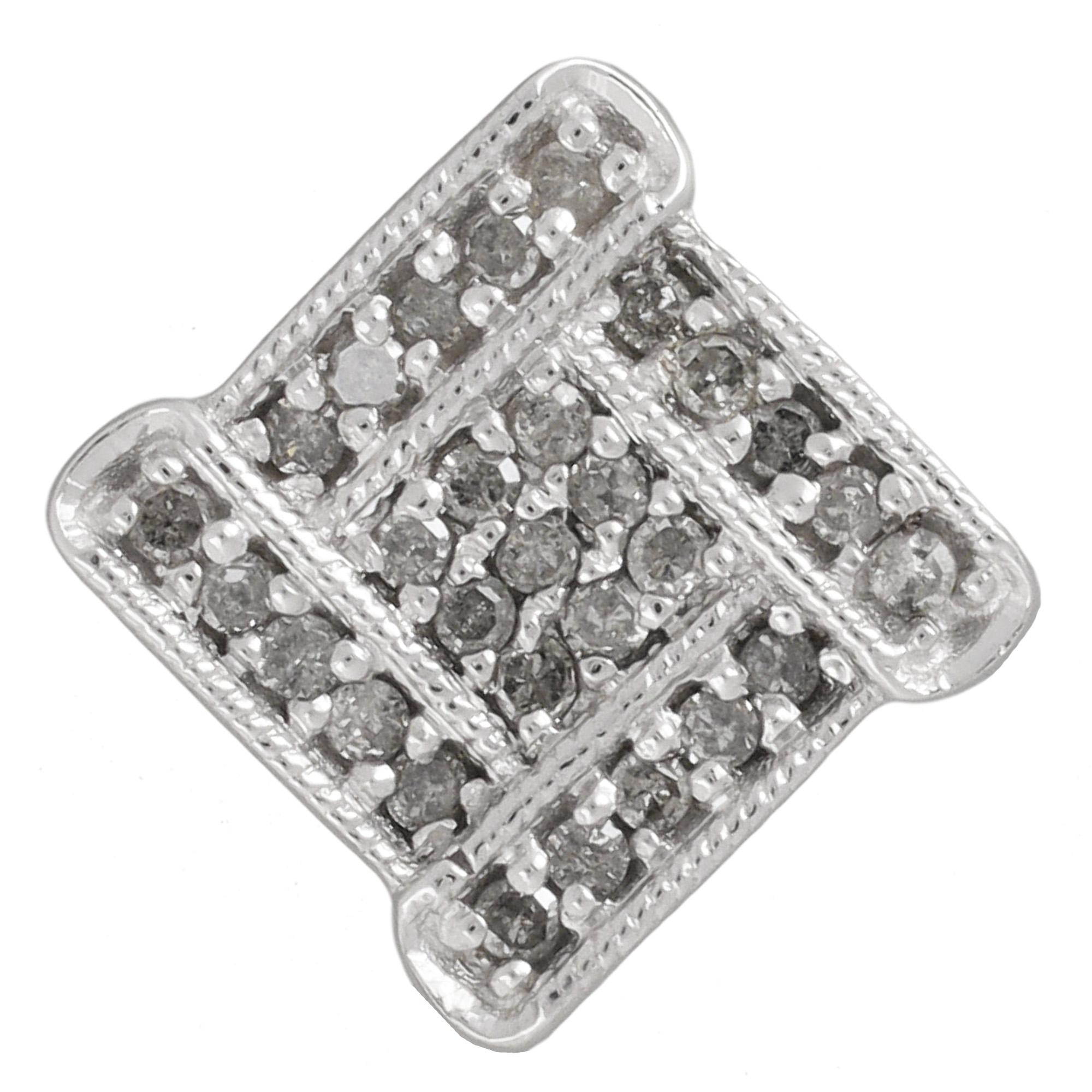 Damen-Halskette-echt-Silber-925-Sterling-rhodiniert-mit-Diamanten-45-cm-lang